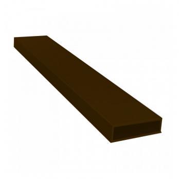 Импост для москитной сетки коричневый