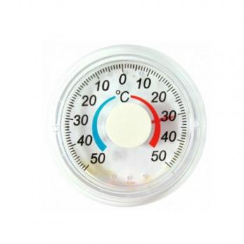 Термометр оконный Биметалический круглый