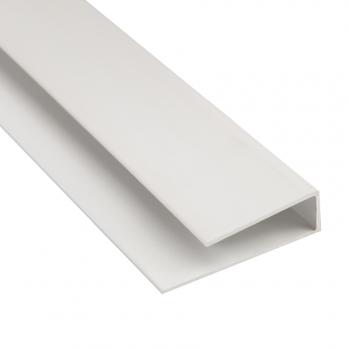 Профиль стартовый белый  Евроконст 3 м