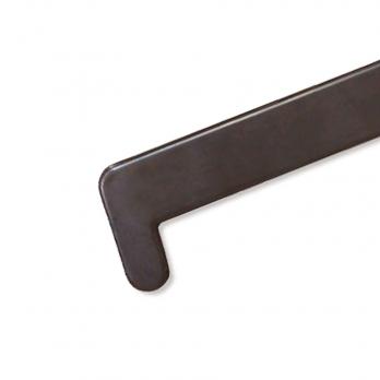 Заглушка на подоконник BRUSBOX 600 мм махагон
