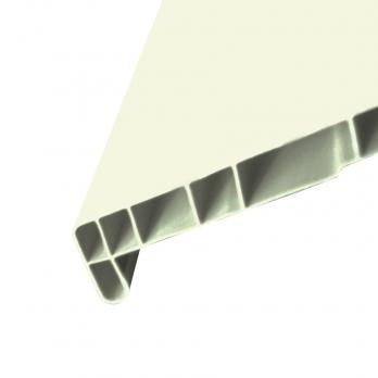 Подоконник ПВХ Атлант белый 600 мм
