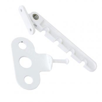 Ограничитель открывания (гребенка) белая пластик