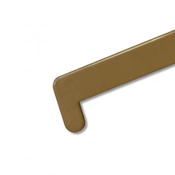 Заглушка на подоконник BRUSBOX 600 мм золотой дуб