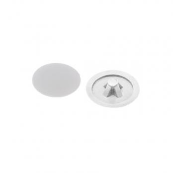 Заглушка декоративная для анкера белая ПВХ